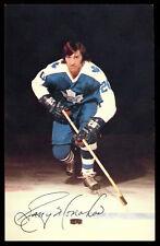 1973 ORIGINAL TEAM ISSUE Garry Monahan TORONTO MAPLE LEAFS POST CARD PHOTO NM