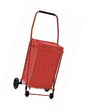 Sandusky FSC3012 Folding Shopping Cart - 66 lbs Capacity