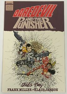 Daredevil and The Punisher Child's Play TPB Frank Miller Klaus Janson