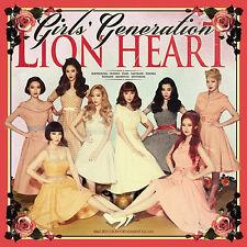 SNSD GIRLS' GENERATION [LION HEART] 5th Album CD+Photo Book+Card K-POP SEALED