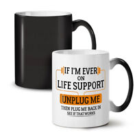 Life Support NEW Colour Changing Tea Coffee Mug 11 oz | Wellcoda