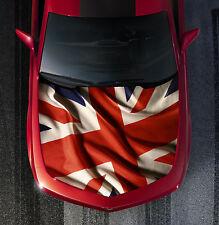 H58 BRITISH FLAG Hood Wrap Wraps Carbon Decal Sticker Tint Vinyl Image Graphic