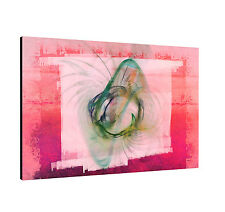 Canvas Picture Paul Sinus Enigma Series 120x80cm Pink Shocking Pink Green