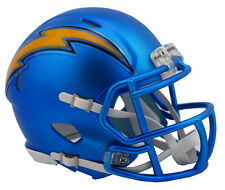 "SAN DIEGO CHARGERS ""BLAZE"" NFL Riddell SPEED Full Size Replica Football Helmet"