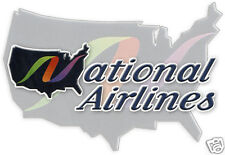 "National Airlines Logo Fridge Magnet 3.25""x2.25"" Collectibles (LM14047)"