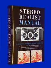Vtg 1954 3D Stereo Realist Manual Hardcover First Edition Book  w/ DJ & Viewer