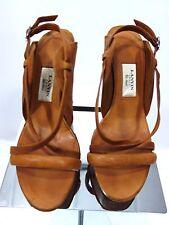LANVIN ETE 2007 CONE STILETTO PLATFORM SANDAL - SIZE 38 OR US 7