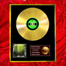 More details for type o negative slow deep & hard cd gold disc record lp award display free p+p!