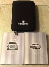 2006 06 Mercury Montego  Owners Guide Manual