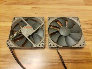TWO Noctua NF-P12 redux-1700 PWM 120mm Fans (Grey)