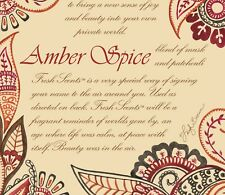 Willowbrook - Amber Spice Scented Sachet Fragrance Large