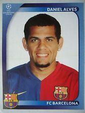 Panini 100 Daniel Alves FC Barcelona UEFA CL 2008/09