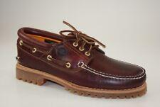 Timberland Tradizionale 3-Eye Boat Shoes Scarpe da Barca Uomo con Lacci 50009