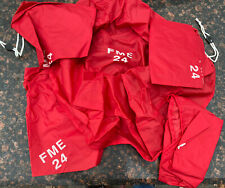 """New Lot of 10 FME 24"""" Red Nylon Pipe Component Cover"""