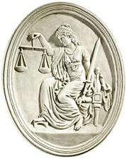 Design Toscano Old Bailey Courthouse Lady Justice Sculpture murale