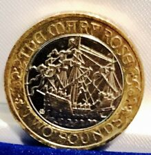 2011 £2 COIN MARY ROSE 500TH ANNIVERSARY RARE TWO POUNDS EXCELLENT CONDITION