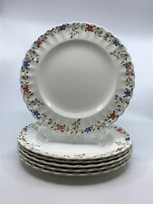 "1 Copeland Spode WICKER DALE Salad Plate Floral Rim 7 3/4"" Multiple Avail VTG"