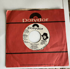James Brown Funky President 45 Record Promo 1974 Vinyl Coldblooded