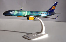 Icelandair Hekla Aurora Boeing 757-200 1:200 B757 Herpa Snap-Fit 610735 NEU