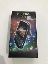 Blackberry Bold 9900 Multi Function Black Plastic case With Belt Clip Front Back