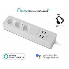 Homcloud Power Power Strip Smart Wi-Fi 16A Schuko+USB Alexa & Google