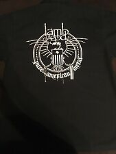 Lamb Of God Button Down Shirt Medium