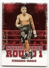 2010 RINGSIDE BOXING ROUND 1 BASE Fernando Vargas #16