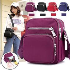 Women's Cross Body Messenger Shoulder Handbag Satchel Bags Waterproof Oxford SM