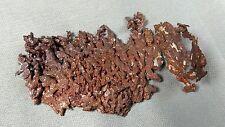 Dendritic Native Copper natural mineral specimen. 32.8 gms (1.16 oz).