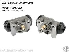 "NISSAN TIIDA WITH ABS 5/8"" BORE REAR BRAKE WHEEL CYLINDER PAIR RMNTD58WC"