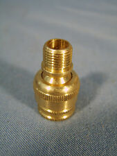Brass Knurled Electric Socket Swivel for Electric Lamp Fixture or Floor Lamp