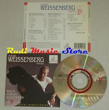 CD ALEXIS WEISSENBERG Piano BACH HAYDN SCHUMANN 1995 italy ERMITAGE lp mc dvd