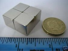 "2 of 1/2"" Strong Neodymium Cube Magnets Powerful Rare Earth Block Magnet 12mm"