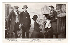 More details for a white man - play scene real photo postcard c1910
