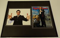 Stephen Colbert Signed Framed 16x20 Photo Set