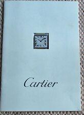 "CARTIER, ""TANK FRANCAISE WATCH"" 1997 CATALOG. (4321)."
