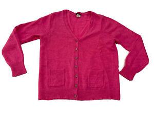 Women's J Crew Cardigan Pink Size XL (Kids??)