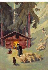 """Fleißbildchen Heiligenbild Gebetbild Andachtsbild Schönermark Ars sacra"""" H77""""60S"""