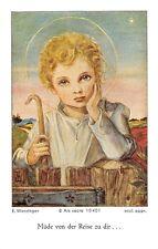"""Fleißbildchen Heiligenbild Gebetbild  Werzinger Holy card Ars sacra"""" H999"""""""