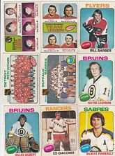 1975-76 O PEE CHEE lot of 19 DIFFERENTS CARDS  Ex cond+   LOT 104