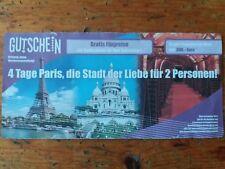 Kurzreise Paris 4 Tage für 2 Personen mit Frühstück im modernen Hotel Gutschein