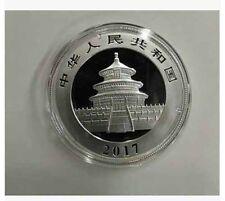 "2017 China Coin Panda ""Silver Color"" 10 Yuan Chinese Collect 37 G"