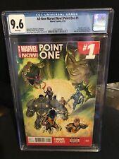 All New Marvel Now Point 1 CGC 9.6 1st Full Kamala Khan Ms Marvel MCU Disney +