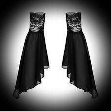 New Black Gothic Medieval Separate Elasticated Half Sleeves Cuffs L 22cm x 44cm