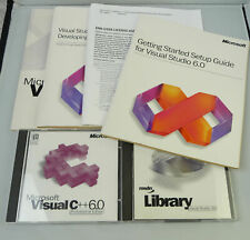 Microsoft Visual C++ 6.0 Professional - Vollversion - Englisch -