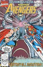 AVENGERS ANNUAL # 19 - COMIC - 1990 - 9.2