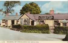 Scotland Postcard - The Original and Famous Blacksmith Shop - Gretna Green ZZ722