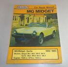 Manual de Reparación MG Midget + Austin Healey Sprite 1962-1980