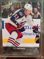 2015-16 UD Hockey Series 1 Young Guns #217 Josh Anderson