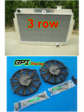 Aluminum Radiator for HOLDEN Kingswood HG HT HK HQ HJ HX HZ V8 Chev engine + FAN